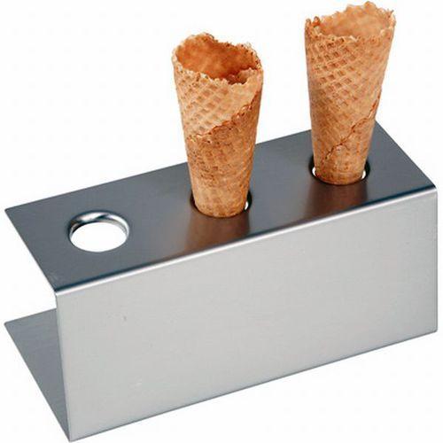 Hendi Stojak do lodów na 3 wafelki