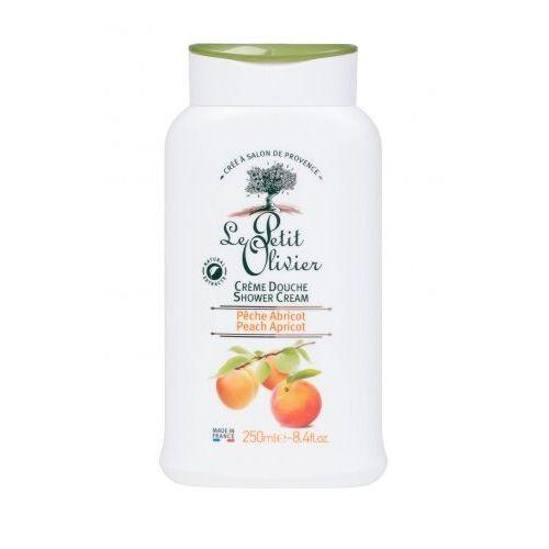 Le Petit Olivier Shower Peach Apricot krem pod prysznic 250 ml dla kobiet