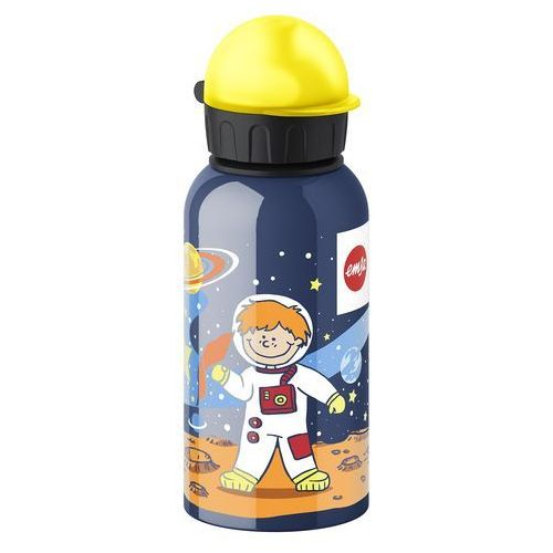 EMSA 514397 dzieci butelka do picia, 400 ML, zamknięcie zabezpieczające, 100% szczelności, 0,4 L