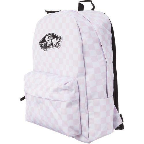 Vans Plecak realm backpack chalk pink c v00nz0p2a chalk pink checkerboard