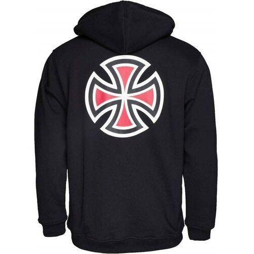 Bluza - bar cross hood black (black) rozmiar: l marki Independent