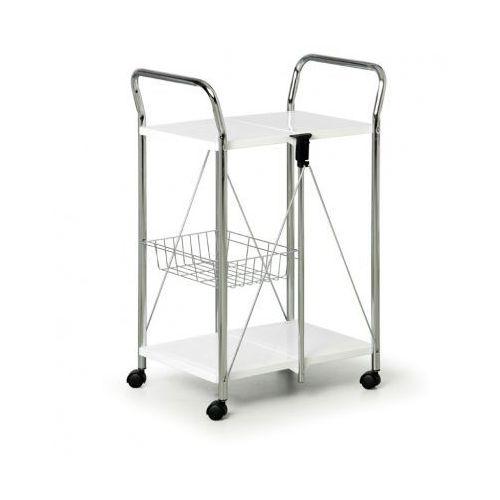 Składany wózek wielofunkcyjny, biały