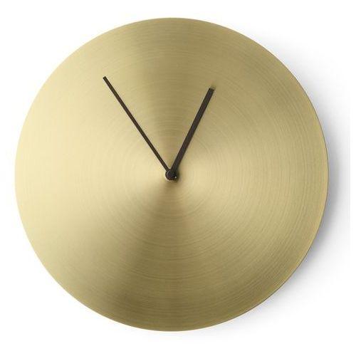 Menu Zegar norm wall clock brushed brass