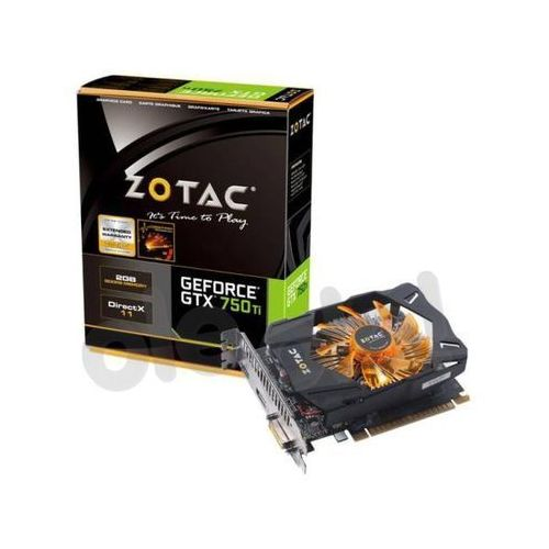 Zotac GeForce GTX750 Ti 2GB DDR5 128bit z kategorii Karty graficzne