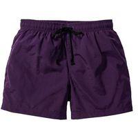 Szorty plażowe regular fit ciemny lila marki Bonprix