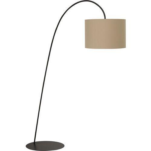 Lampa podłogowa alice coffee i 3464 z abażurem 1x100w e27 czarny/kawowy marki Nowodvorski