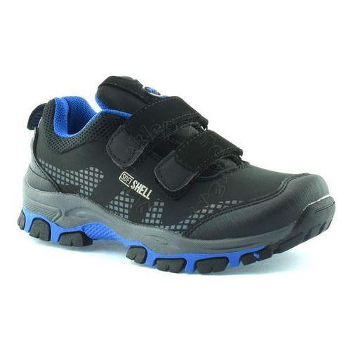 Dziecięce buty sportowe 1604 - czarny ||niebieski marki American club