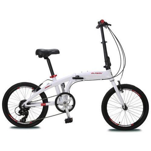 "Olpran składany rower 20"" White/Red"