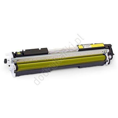 Toner żółty do hp color laserjet pro m176 m177 - zamiennik cf352a 130a [1k] wyprodukowany przez Precision