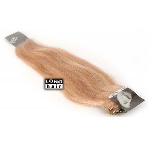 Włosy na zgrzewy - kolor: #613/27 baleyage - 20 pasm marki Longhair