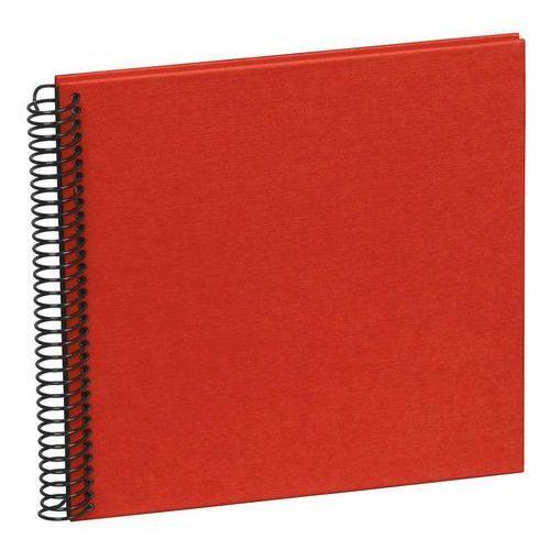 Album na zdjęcia Uni Economy czarne karty mały czerwony, 354869