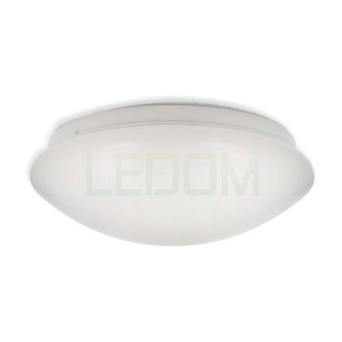 Plafon LEDOM 12W 750lm 85-265V 4000K biała dzienna z mikrofalowym czujnikiem ruchu