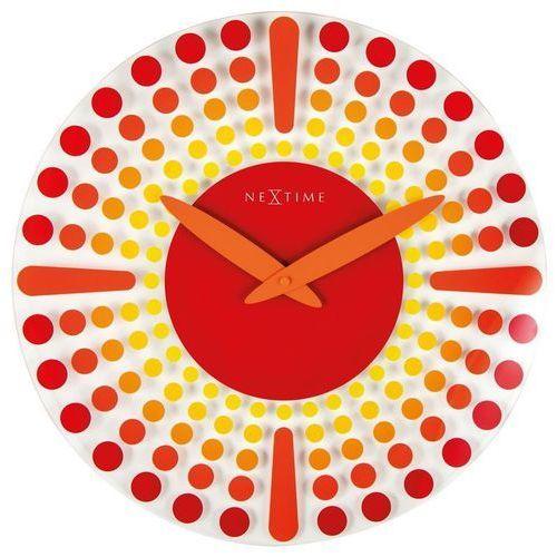 - zegar ścienny dreamtime - czerwony marki Nextime
