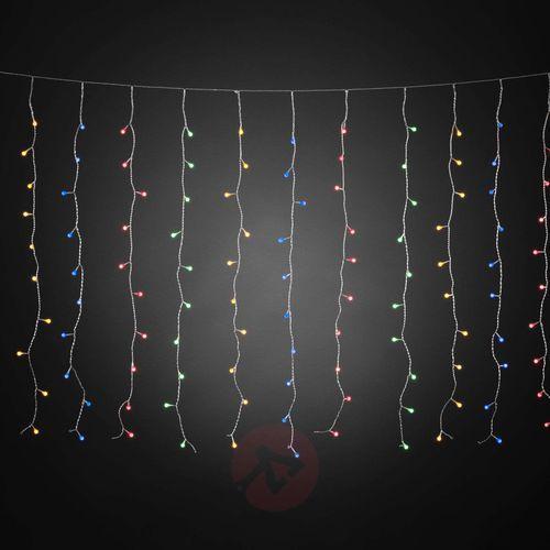 Kurtyna świetlna LED z kolorowymi kulami, 200-pkt. (7318306745031)