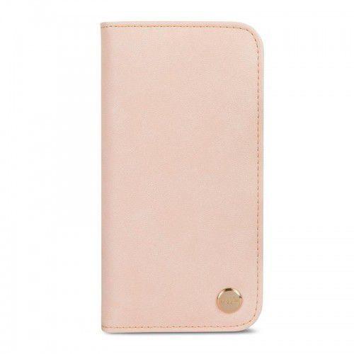 Moshi overture - etui iphone x z kieszeniami na karty + stand up (luna pink) (4713057252808)