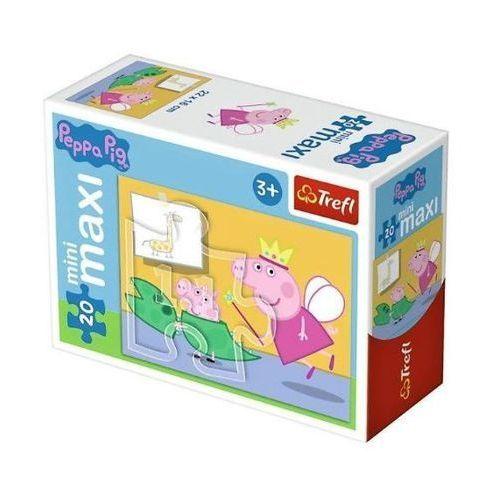 Puzzle 20 miniMaxi - Zabawy Świnki Peppy 1 TREFL