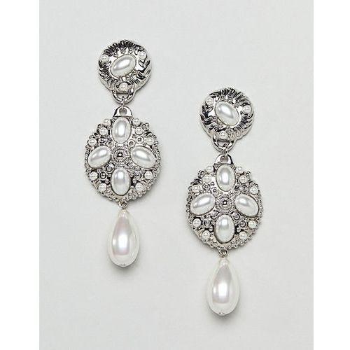 Ivyrevel pearl look earrings - cream