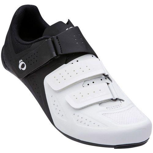 PEARL iZUMi Select Road V5 Buty Mężczyźni biały/czarny 47 2018 Buty rowerowe (0888687983713)