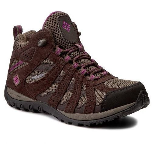 Columbia Trekkingi - redmond mid waterproof bl3946 mud/ontense violet 256