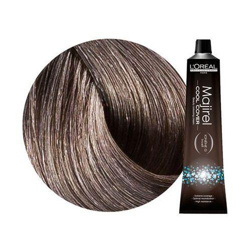majirel cool cover   trwała farba do włosów o chłodnych odcieniach - kolor 7.1 blond popielaty - 50ml marki Loreal