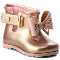 Kalosze MELISSA - Mini Melissa Sugar Rain Bb 32388 Pink 52792, kolor żółty