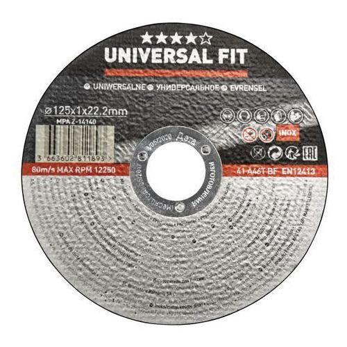 Tarcza do cięcia metalu inox 125 x 1 mm marki Universal
