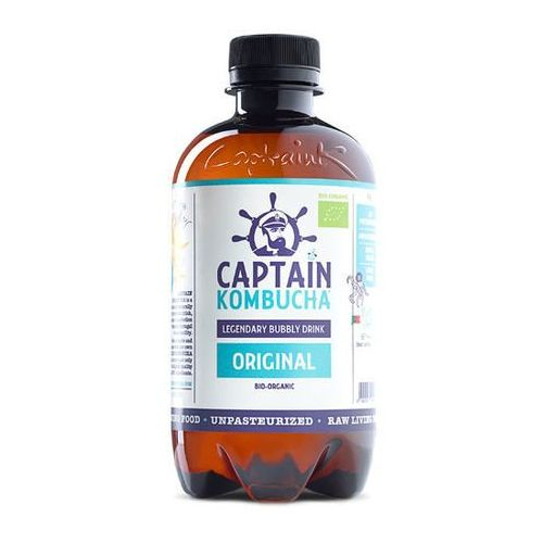 Napój original bio 400ml marki Captain kombucha