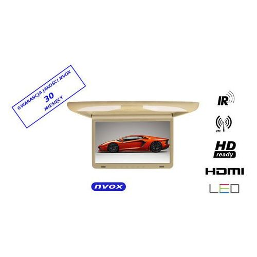 "Nvox rf1538 ir fm hdmi be monitor podwieszany podsufitowy lcd 15"" cali led hd ready hdmi ir fm (5909182417055)"
