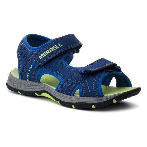 Sandały MERRELL - Panther Sandal MK261236 Blue/Green, kolor niebieski
