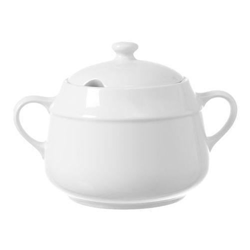 Fine dine Waza na zupę porcelanowa bianco