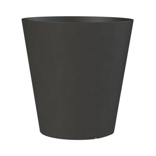 Tierra verde Donica ogrodowa 40 cm gumowa czarna octavia