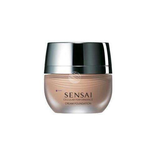 cellular performance cream foundation (w) podkład w kremie cf22 natural beige 30ml marki Kanebo sensai