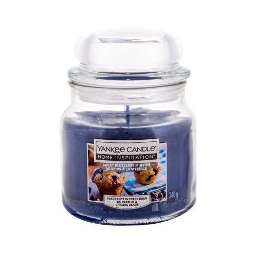 Yankee Candle Sweet Blueberry Muffins świeczka zapachowa 340 g unisex