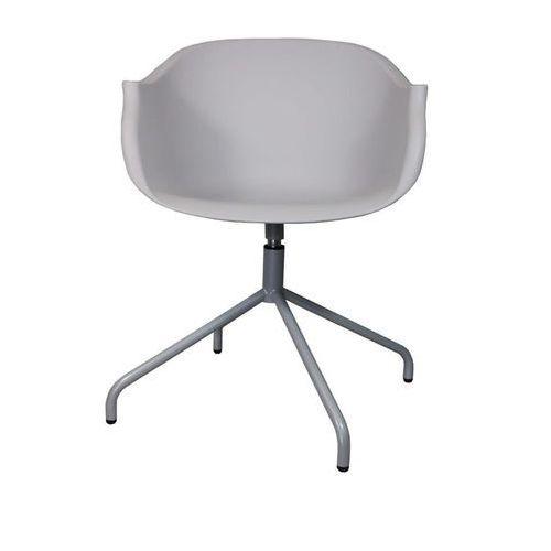 Krzesło Roundy Light Grey - szary, 114573