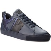 Sneakersy collection - v900714 vm00392 v873 blu scuro/nero/blu, Versace, 42-44