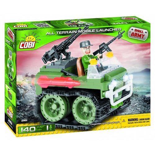 Small Army 140 elementów Pojazd Gąsienicowy