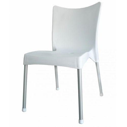 Mega plast krzesło mp464 vita, białe