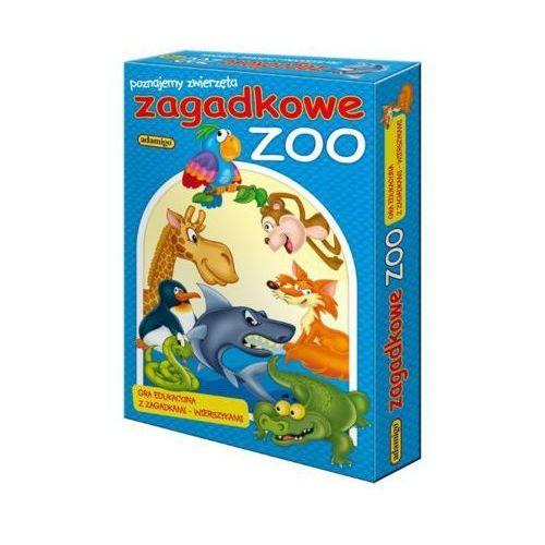 gra ukł. zagadkowe zoo od producenta Adamigo