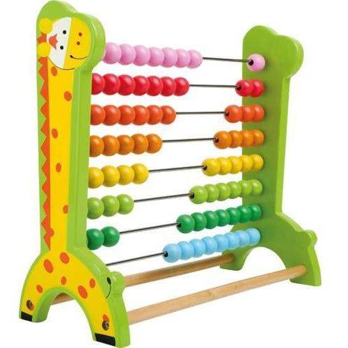 Small foot design Liczydło drewniane żyrafa - zabawka edukacyjna dla dzieci