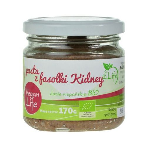 170g pasta z fasolki kidney bio marki Biolife