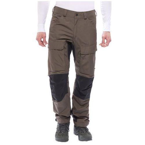authentic spodnie długie mężczyźni brązowy 58 2018 spodnie turystyczne marki Lundhags