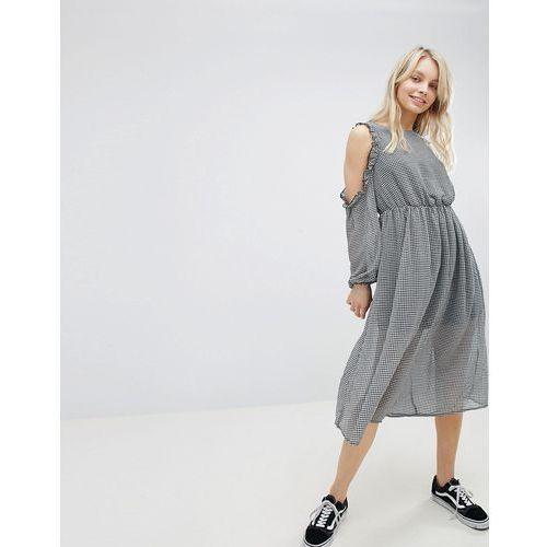 Glamorous Cold Shoulder Dress - Black