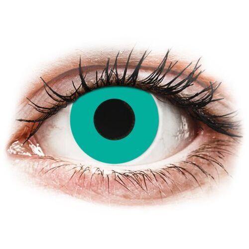 Gelflex Crazy lens - solid turquoise - jednodniowe zerówki (2 soczewki) (8594191734087)