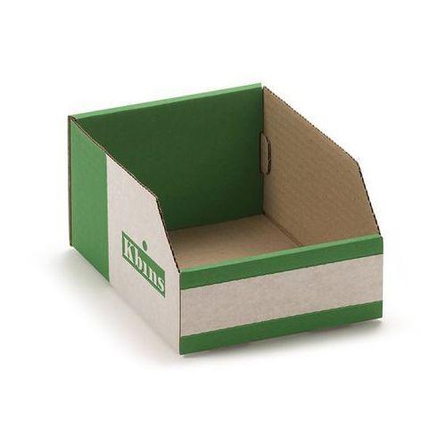 K bins limited Skrzynki regałowe z kartonu, składane, opak. 50 szt., dł. x szer. x wys. 200x150