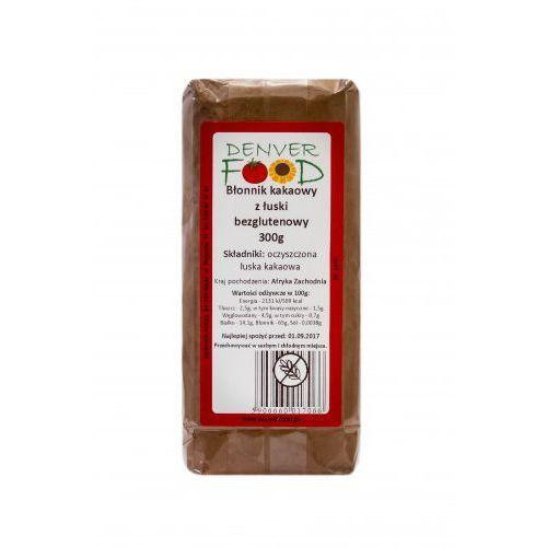 Błonnik kakaowy z łuski bezglutenowy 300g Denver Food, 1632