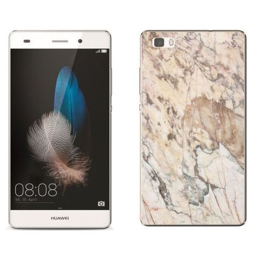 Zolti Huawei p8 lite - etui na telefon - kolekcja marmur - marble beż - h19