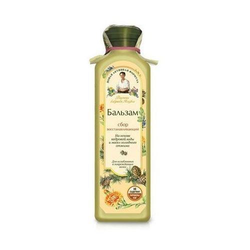 Babuszka agafia balsam do włosów jasny - regenerujący do włosów uszkodzonych 350ml marki Pierwoje reszenie, rosja