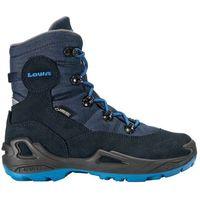 Nowe buty rufus iii gtx hi navy/blue rozmiar 31/19,5cm marki Lowa