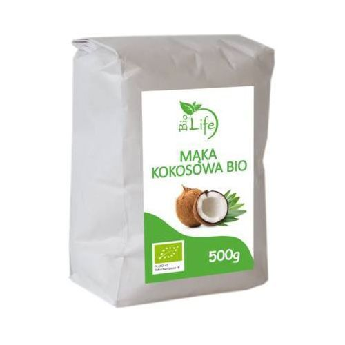 Biolife 500g mąka kokosowa bio