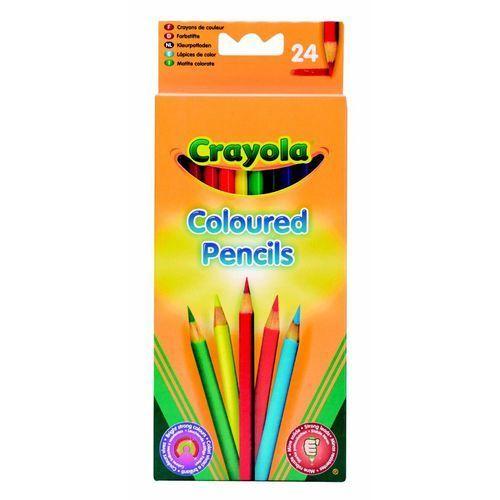 Crayola , core, kredki ołówkowe, 24 szt.
